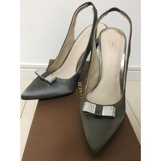 COACH - コーチ COACH 靴 35.5 22.5cm サンダル ハイヒール
