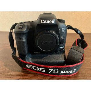 Canon - CANON EOD7D mark2 ボディ バッテリーグリップBG-E16付き