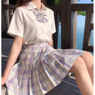 スカートとリボン セット制服 コスプレ チェックスカート 上下セット