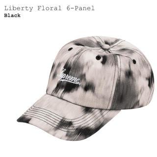 シュプリーム(Supreme)のsupreme Liberty Floral cap BLACK シュプリーム(キャップ)