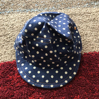 ベビー キャップ 帽子 ワークキャップ 48cm