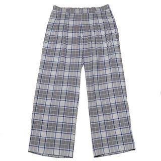 サンシー(SUNSEA)のTHEE 2tuck wide pants(スラックス)
