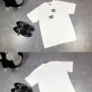 シュプリーム(Supreme)の2枚セット高品質男女兼用SUPREMEシュプリームTシャツ(Tシャツ/カットソー(半袖/袖なし))