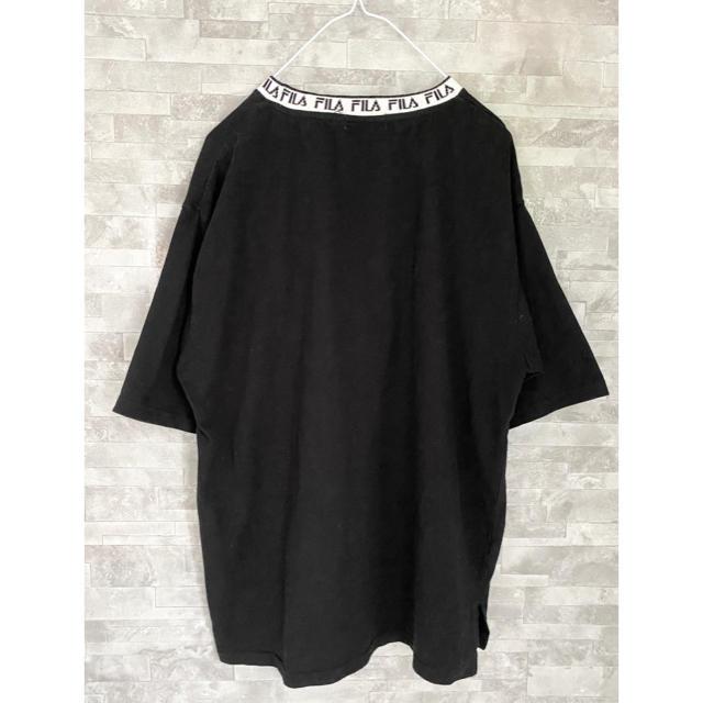 FILA(フィラ)のFILA 刺繍 ロゴ 半袖 Tシャツ メンズのトップス(Tシャツ/カットソー(半袖/袖なし))の商品写真