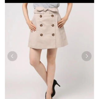 ダズリン(dazzlin)の値下げしました!台形トレンチスカート dazzlin(ミニスカート)