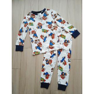 エイチアンドエム(H&M)のH&M 100㎝  スーパーマリオ パジャマ(パジャマ)