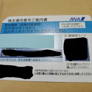 ANA(全日本空輸) - ANA株主優待券 1枚 有効期限 11月30日