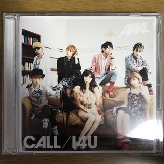 トリプルエー(AAA)のCALL / I4U  AAA  初回限定盤(ポップス/ロック(邦楽))