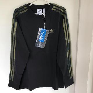 アディダス(adidas)の【新品】アディダスオリジナルス 長袖Tシャツ サイズL カモフラージュ(Tシャツ/カットソー(七分/長袖))