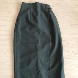 KBF - KBF グリーンタイトスカート