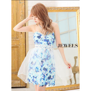 JEWELS - jewels 大人気で再入荷❗️ ひらひら可愛い💓ベアドレス