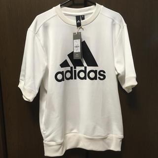 adidas - adidas climalite 半袖 スウェット Tシャツ ホワイト S