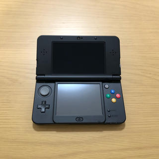 ニンテンドー3DS(ニンテンドー3DS)の任天堂 Newニンテンドー3DS ブラック 初期化済み(携帯用ゲーム機本体)