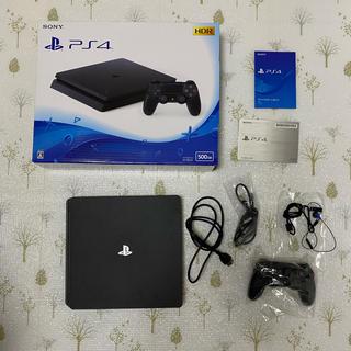 PlayStation4 - SONY PlayStation4 本体 500GB (販売店印あり)