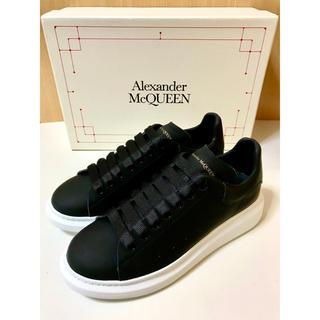 アレキサンダーマックイーン(Alexander McQueen)の新品 アレキサンダー・マックイーン スニーカー 黒 26cm (スニーカー)