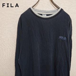 フィラ(FILA)のFILA フィラ  長袖  ワンポイントロゴビックサイズ(スウェット)