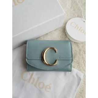 Chloe - CHLOE クロエ レザー 3つ折り 財布