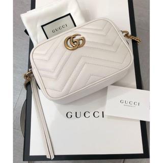 Gucci - GUCCI GGマーモント ショルダーバッグ