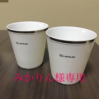 トヨタ(トヨタ)の★非売品★ノベルティー★ トヨタ LEXUS フリーカップ オリジナル(ノベルティグッズ)