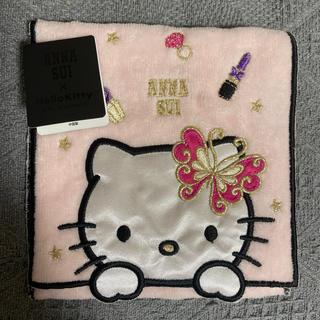 ANNA SUI - Kitty ANNA SUIコラボポケット付タオルハンカチ