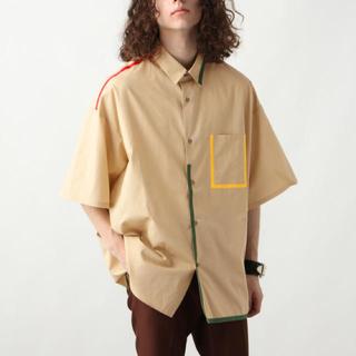 HARE - HARE 韓国 パイピングBIGシャツ