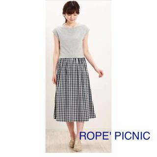 Rope' Picnic - ROPE' PICNIC②ギンガムチェックワンピース【美品】