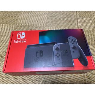 ニンテンドースイッチ(Nintendo Switch)の任天堂 Nintendo Switch ニンテンドースイッチ 本体 グレー 新型(家庭用ゲーム機本体)
