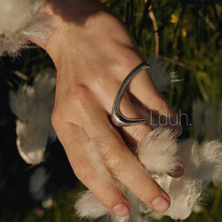 ESTNATION - j384.peri ring(silver)
