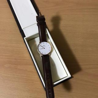 ダニエルウェリントン(Daniel Wellington)の腕時計(レザーベルト)