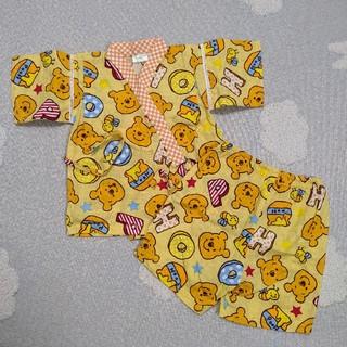ディズニー(Disney)のプーさん甚平 90(甚平/浴衣)