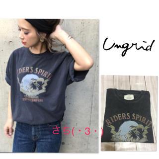 Ungrid - Ungrid♡人気♡イーグルプリントTee