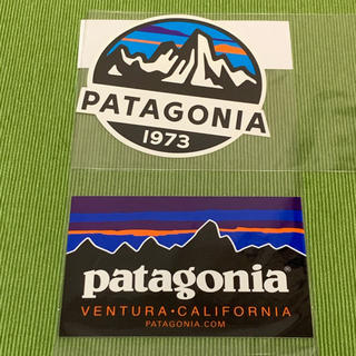 パタゴニア(patagonia)のステッカー パタゴニア 2枚セット(その他)