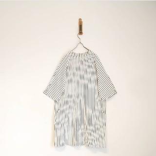 ドットアンドストライプスチャイルドウーマン(Dot&Stripes CHILDWOMAN)のストレッチポンチ ドルマンスリーブワンピ(ひざ丈スカート)
