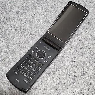 エヌイーシー(NEC)のガラケー docomo N-01F ブラック 携帯電話 3G(携帯電話本体)