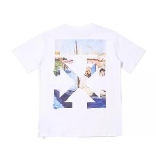 OFF-WHITE - Off white オフホワイト ホワイト色 Tシャツ M