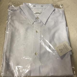 新品未使用 メンズ ワイシャツ 長袖 Lサイズ 白(シャツ)