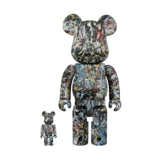 MEDICOM TOY - BE@RBRICK Jackson Pollock Studio Ver.2.0