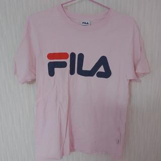 フィラ(FILA)のFILA Tシャツ ピンク(Tシャツ(半袖/袖なし))