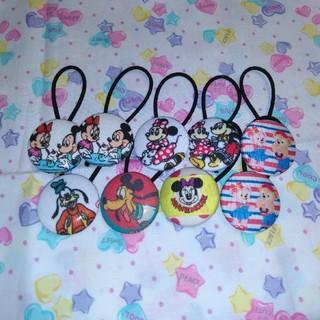 Disney - ディズニー•ヘアゴム2個セット