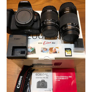 Canon - Canon EOS kiss X8i ダブルズームレンズキット