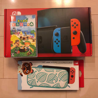 Nintendo Switch - 【美品 中古】スイッチ Switch 本体+あつまれどうぶつの森 ソフト