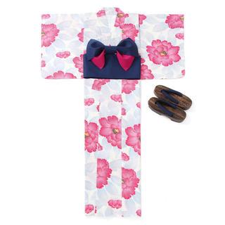 GRL - GRL グレイル 浴衣 セット 帯 牡丹柄 花柄