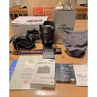 Canon - 6D mark2 24-105mm f/4L IS II USM おまけ多数