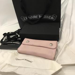 Chrome Hearts - クロムハーツWAVE ピンク 正規店購入 小銭入れ未使用