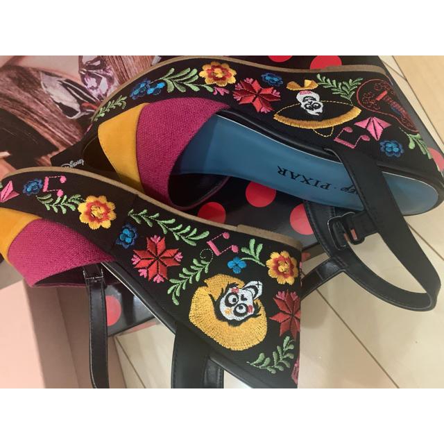 DIANA(ダイアナ)のぱに様専用 DIANA リメンバーミー ディズニー ダイアナ サンダル レディースの靴/シューズ(サンダル)の商品写真