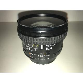 ニコン(Nikon)の【中古】Nikon AF Nikkor 20mm f/2.8D(レンズ(単焦点))