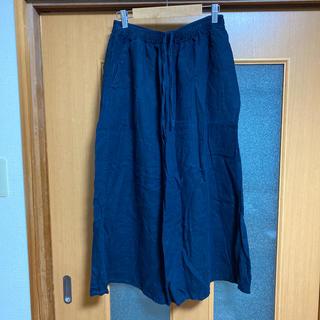 ムジルシリョウヒン(MUJI (無印良品))の無印良品 ロングスカート リネン 麻 ペチコート付き(ロングスカート)