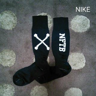NIKE - NIKE nftb 黒 25-27cm サッカーソックス