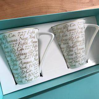 Tiffany & Co. - ティファニー ノーツ マグカップ