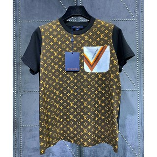 LOUIS VUITTON - LV Louis Vuitton限定版カラーブロックTシャツ